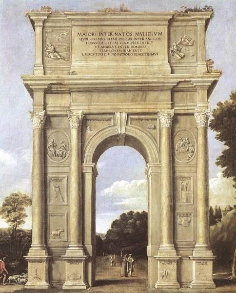 A Triumphal Arch of Allegories WGA